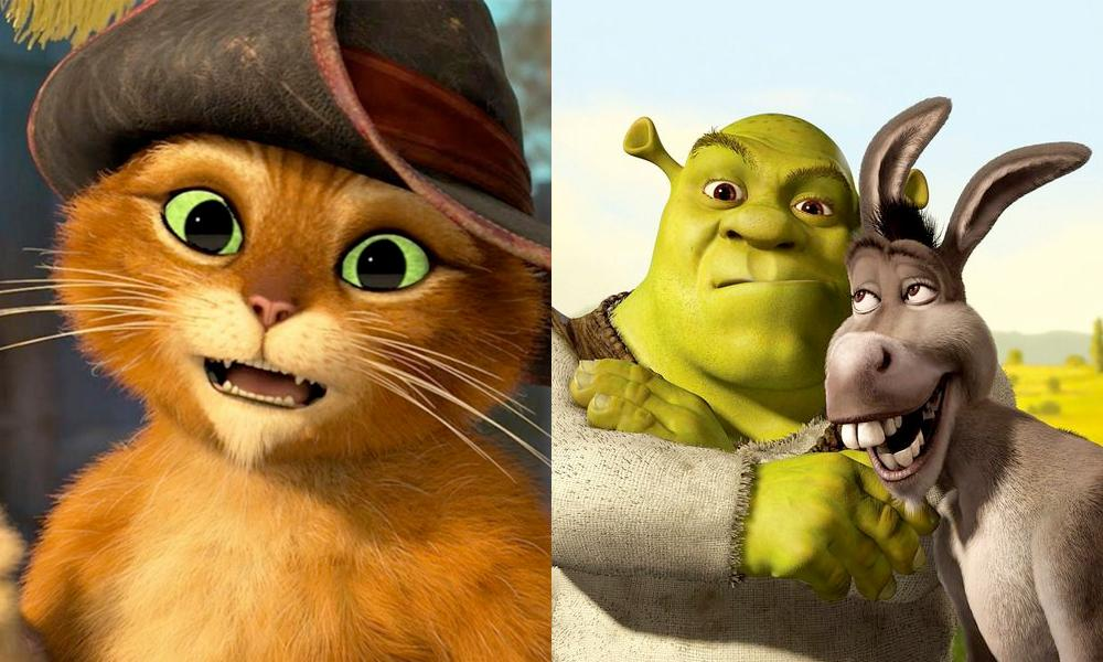 Puss in Boots, Swamp Talk with Shrek and Donkey