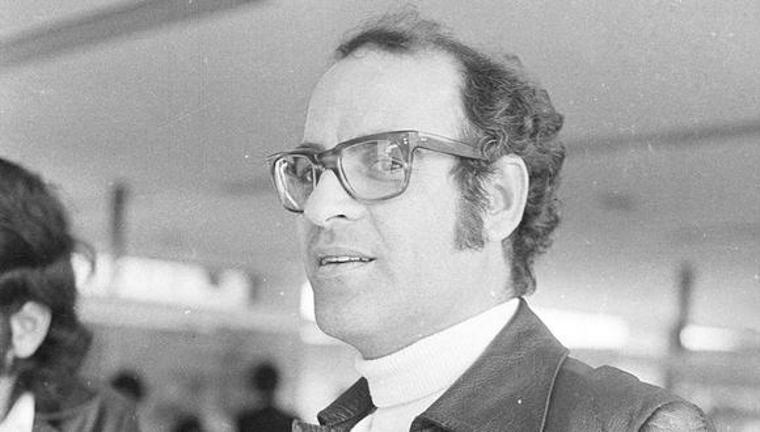 Quino photographed during a layover in Lima, Peru in 1973 [Photo: GEC Historical Archive]