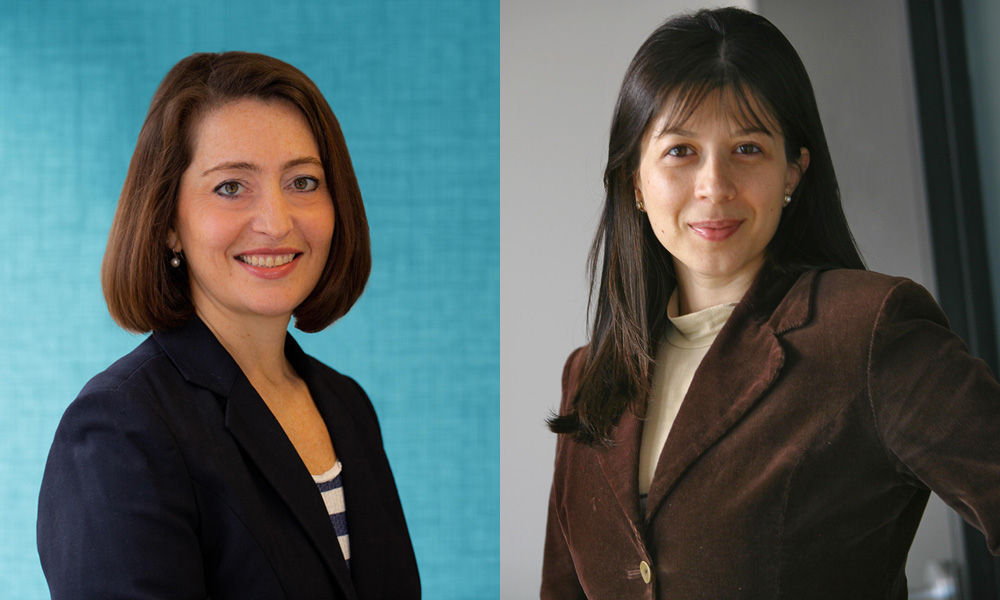 Rachel Taylor and Lara Ilie