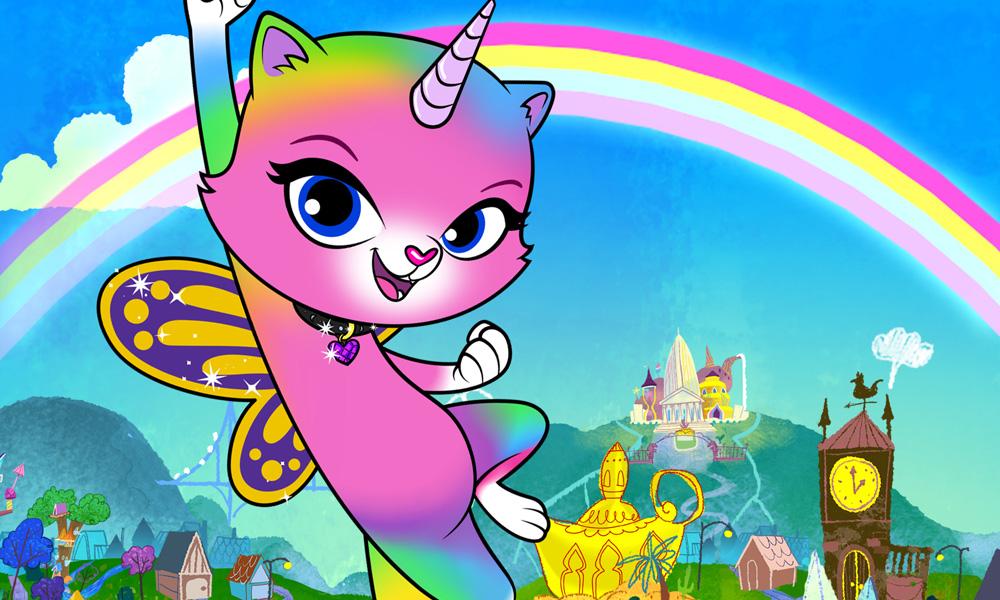 Rainbow Butterfly Unicorn Kitty Sparkles On Nick Jan 27