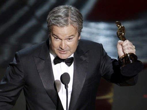 Director Gore Verbinski holds the Oscar for Best Animated Feature Film for his work in Rango