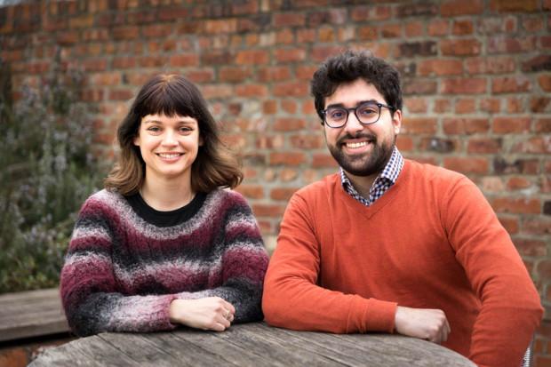 Rebecca Manley and Simone Giampaolo