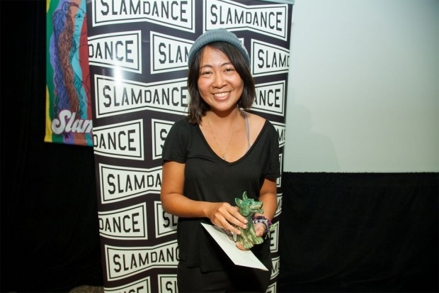 Slamdance Animated Shorts Grand Jury Prize winner Renee Zhan. Photo credit: Ian Stroud