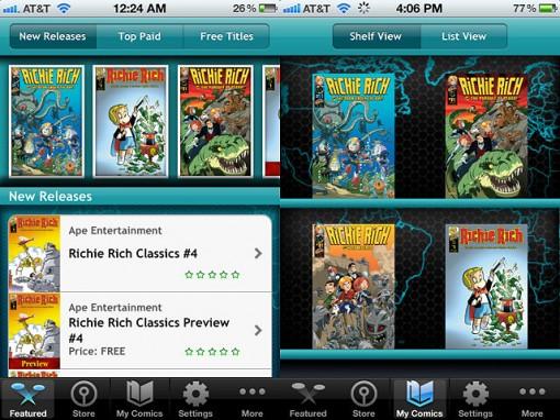 Richie Rich app