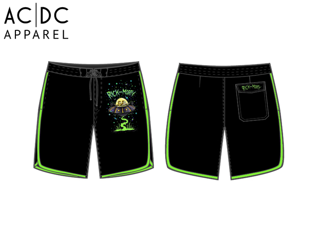 ACDC Apparel Rick and Morty
