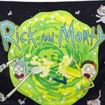 Rick and Morty Calhoun Wall Banner
