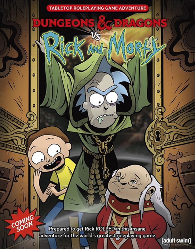 Rick and Morty Dungeons & Dragons