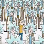 "Rick & Morty ""Exquisite Corpse"""