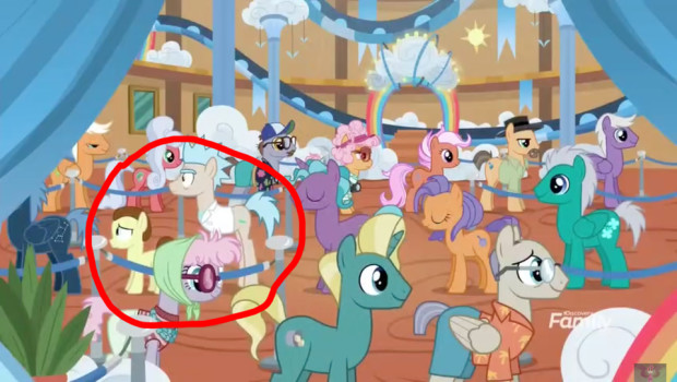 Rick and Morty appear in My Little Pony