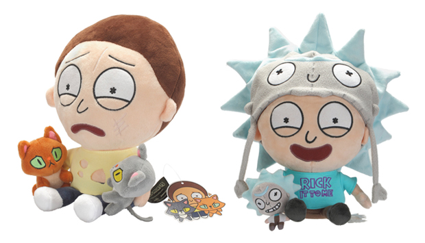 Rick & Morty Two Cat Morty and Super Rick Fan Morty