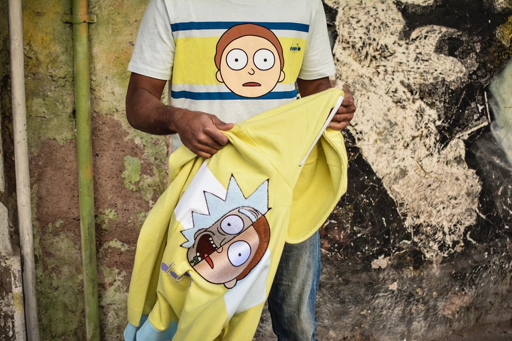 Rick and Morty x Diadora