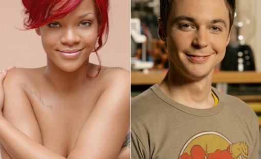 Rihanna (left) and Jim Parsons (right)