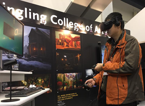 Ringling College of Art and Design VR BFA