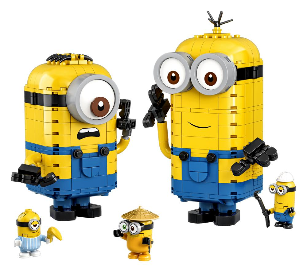 Brick-Built Minions and Their Lair