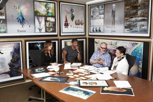 Rise of the Guardians creative team