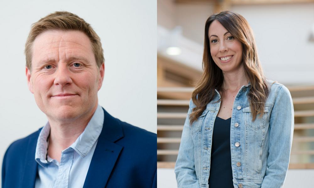 Rob Goodchild and Alison Taylor