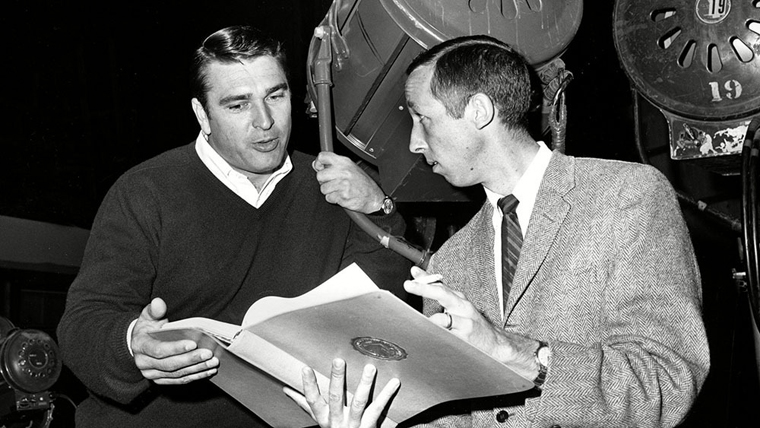 Ron Miller with Roy Disney (Credit: AP/Rex/Shutterstock)