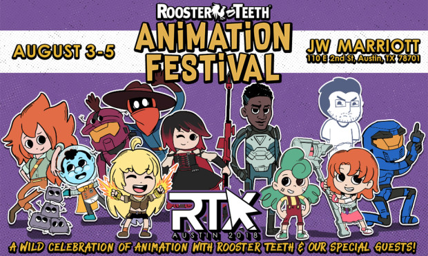 Rooster Teeth Animation Festival