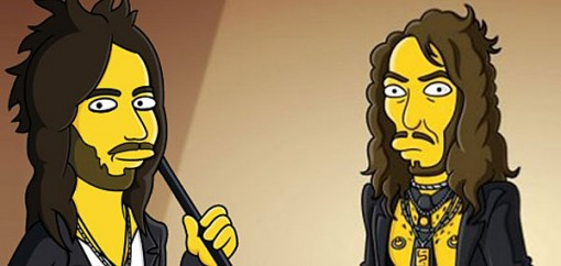 An animated Russell Brand appeared on The Simpsons
