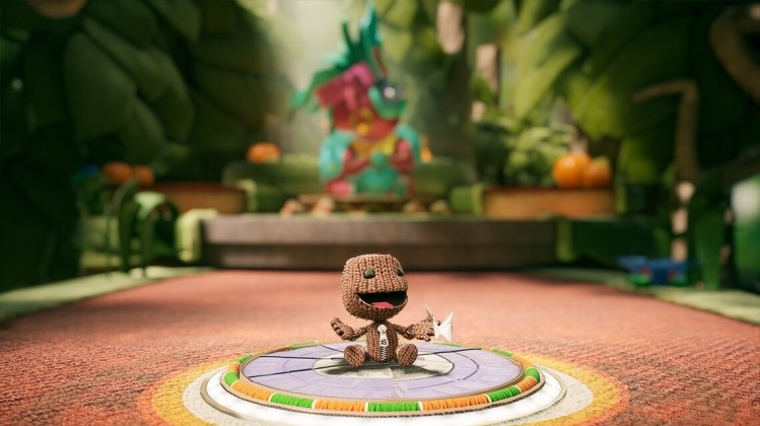 Sackboy: A Big Adventure, 2021 BAFTA winner for Best British Game and Family Game.