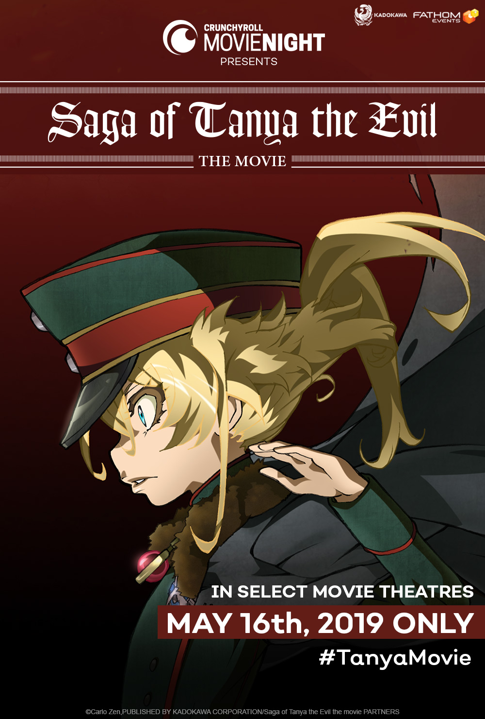 Saga of Tanya the Evil' Is the Next Crunchyroll Movie Night