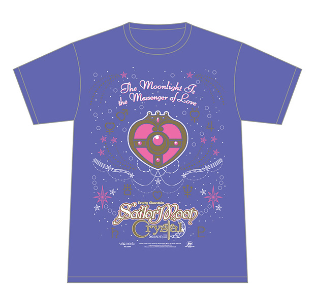 Sailor Moon Crystal tshirt
