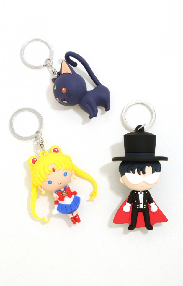 Sailor Moon key chains
