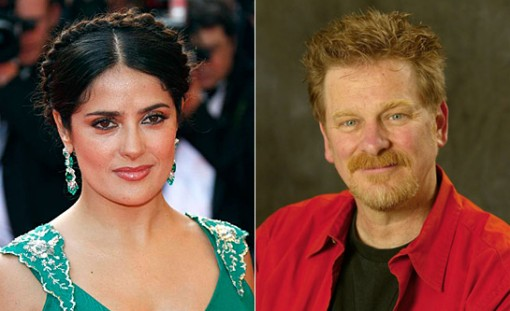 Salma Hayek (left) and Roger Allers