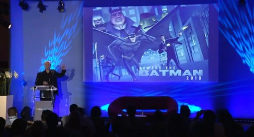 Sam Register announces Beware the Batman at MIP Junior