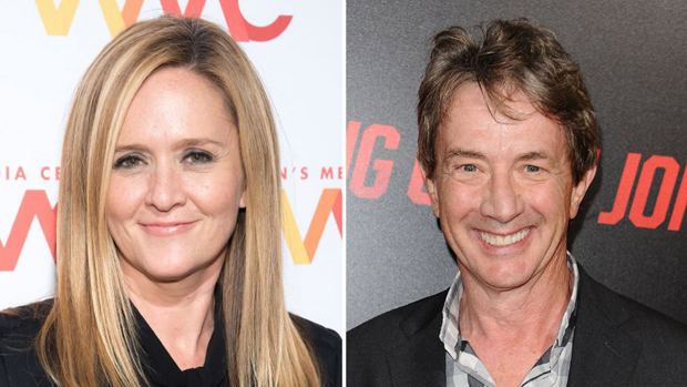 Samantha Bee and Martin Short