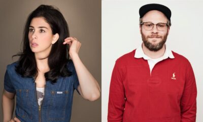 Sarah Silverman [Photo: Robyn Von Swank], Seth Rogen [Photo: Maarten de Boer]
