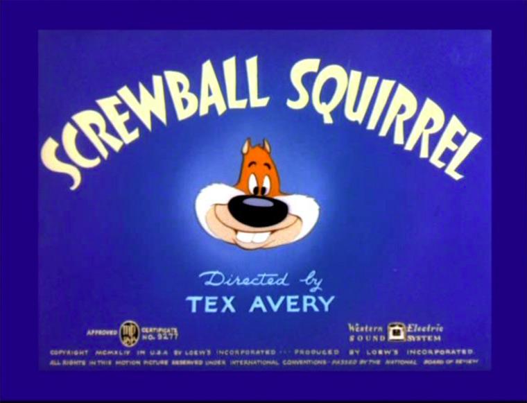 Screwball Squirrel
