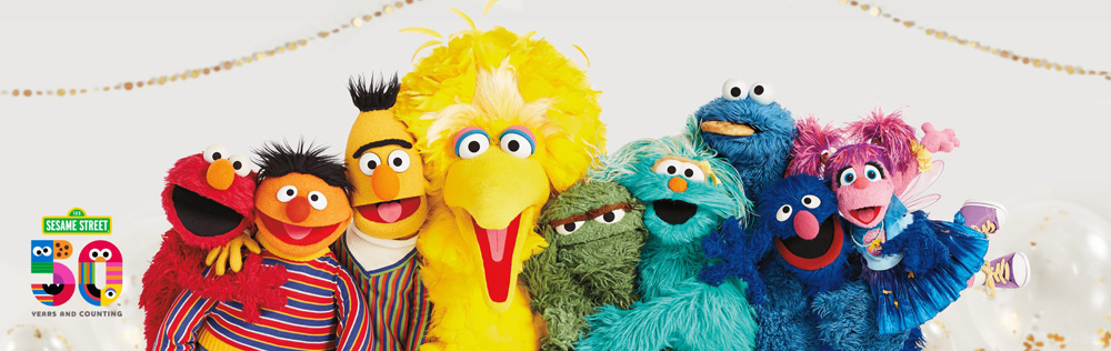 Sesame Street: 50 Years and Counting!