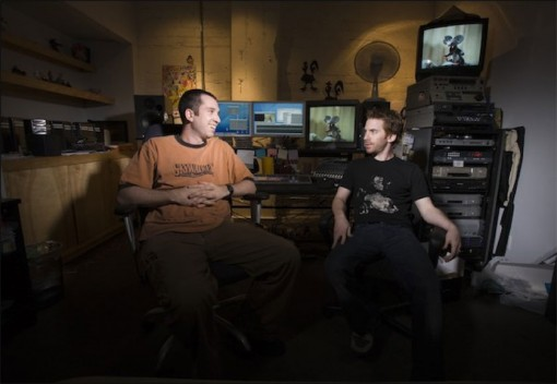 Matthew Senreich (left) and Seth Green