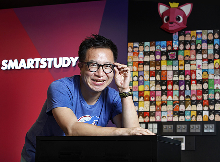 Seungkyu Lee, co-founder of Pinkfong and CFO of SmartStudy [Photo: Park Sang-Moon]