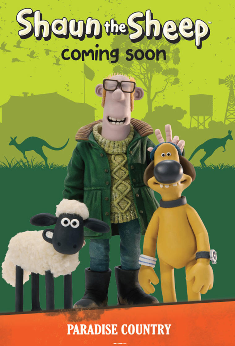 Shaun the Sheep: Paradise Country