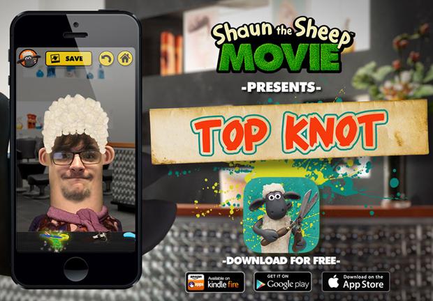 Shaun the Sheep: Top Knot Salon