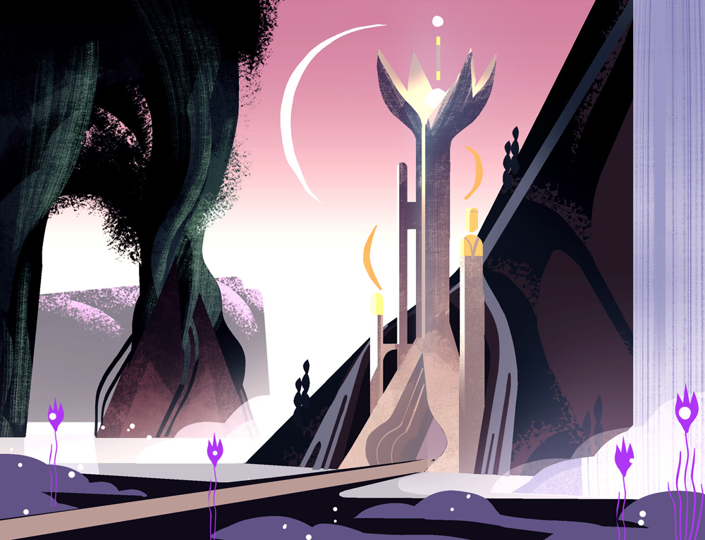 She-Ra and the Princesses of Power background art