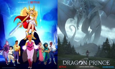 She-Ra and the Princesses of Power and The Dragon Prince