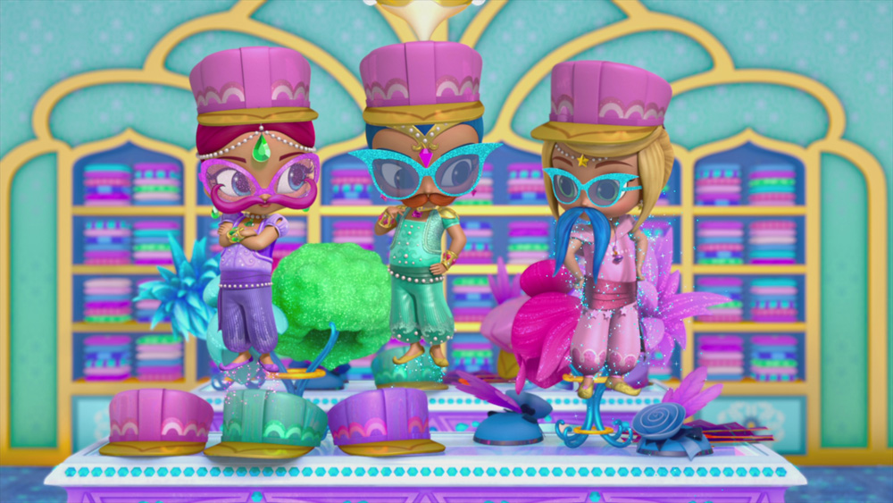 "Shimmer and Shine ""Costume Chaos/Potion School"""