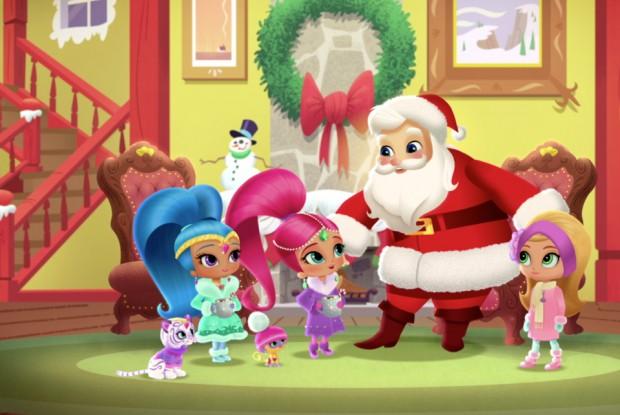 """Shimmer & Shine """"Santa's Little Genies"""""""