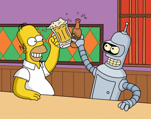 Simpsons/Futurama Crossover Planned for 2014