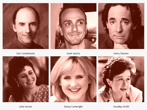 Voice cast of The Simpsons
