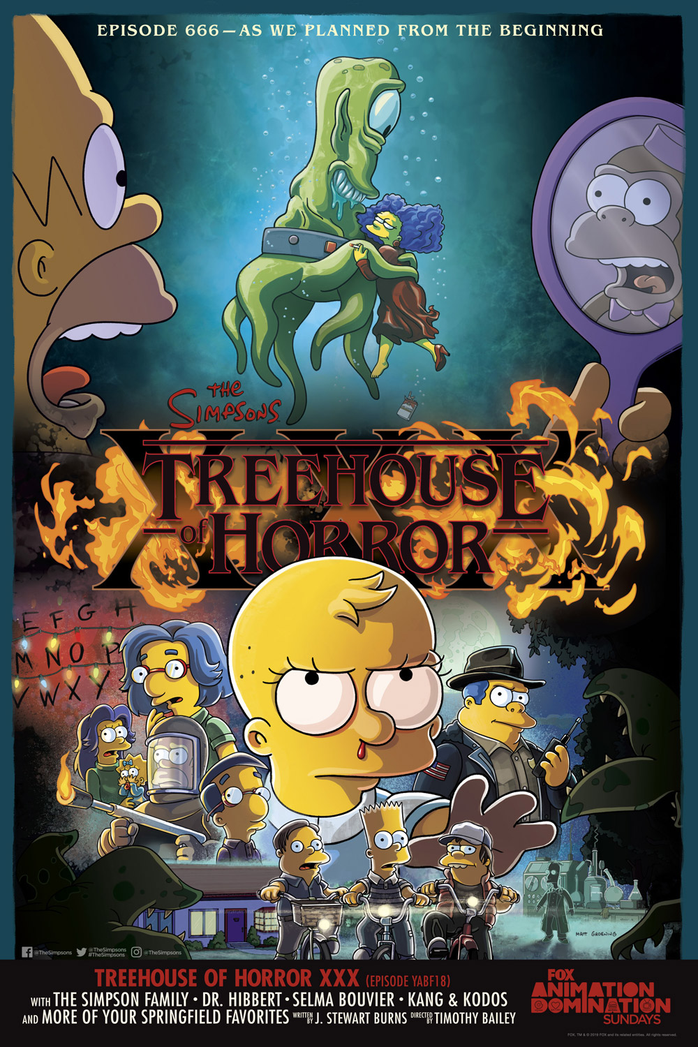 "The Simpsons ""Treehouse of Horror XXX"""