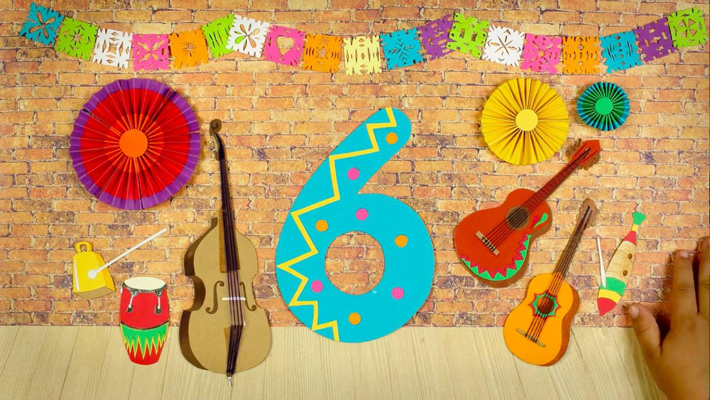 6 Seis Cumbia for Sesame Street