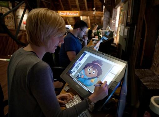 Small Potatoes Animation Factory Tour