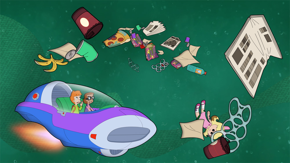 Space Waste Odyssey