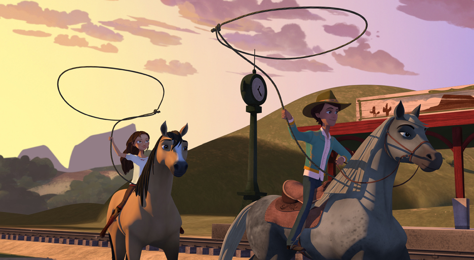 Dreamworks Spirit Riding Free S2 Hoofs It To Netflix