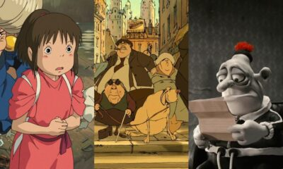 Spirited Away, Triplets of Belleville, Mary and Max