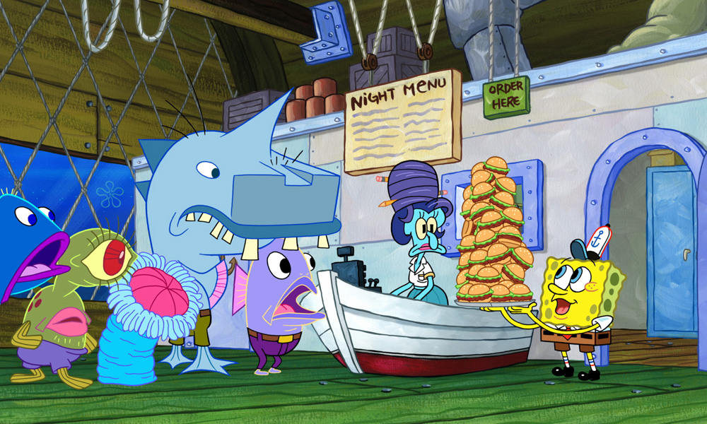 "SpongeBob SquarePants ""The Night Patty"""